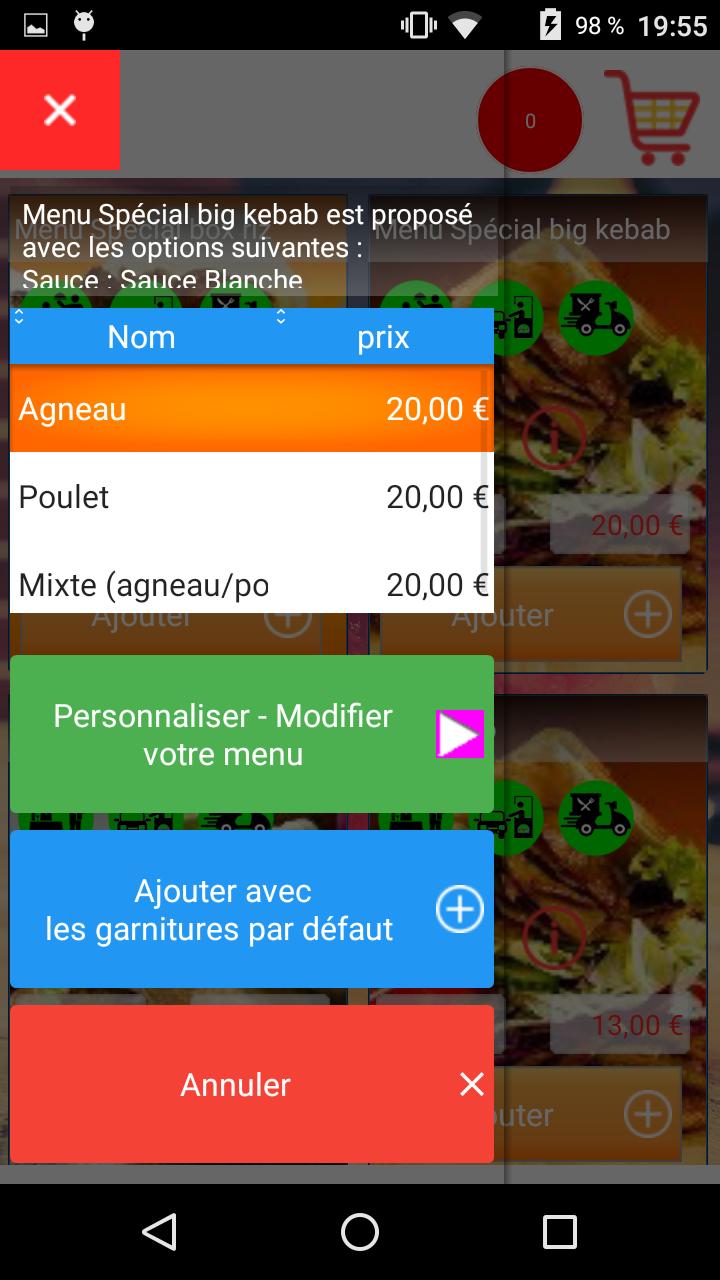 application  Web et mobile Bon'AP